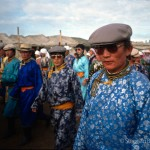 Participants of the Nadaam Festival in Xilinhote