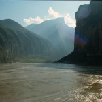 The three gorges (before the erection of the Yangtse dam)
